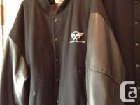 C5 Var. Leather jackets sizes XL and Medium! great