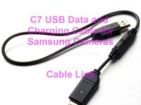 C7 USB Data and Charging Cable for Samsung Cameras - 2