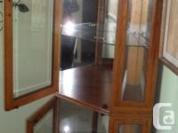 Solid wood and wood veneers Halogen light with interior