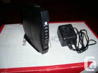 I have 2 DOCSIS2 compliant cable modems for sale. They