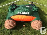 Caddis Navigator IV Pontoon Style Float Tube w Oars &