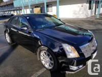 Make Cadillac Model CTS Year 2008 Colour Black kms