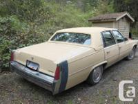 Make Cadillac Model Fleetwood Year 1977 Colour Yellow