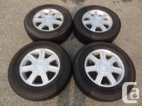 Matched collection of 4 Bridgestone Dueler H/T 684II