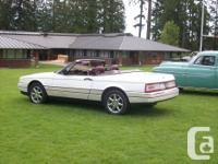 Make Cadillac Model Allante Year 1989 Colour Pearl for sale  British Columbia