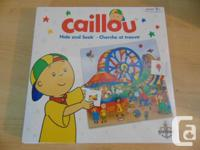 Caiilou Hide and Seek Game New Sealed in Box Age 2-4