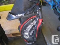 CALAWAY DRIVERS 3-9 CLUBS EVERYTHING READY TO GOLF.
