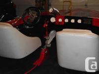 California Invader jet boat . Complete restoration.