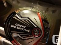 Callaway Great Big Bertha Driver 9° Stiff Right-Handed