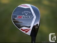 Callaway X-HOT DRIVER + X-HOT FAIRWAY Woods