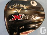 This is a very good used Callaway X Hot Driver
