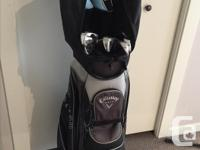 Complete set of Calloway ladies golf clubs. Big Bertha, used for sale  British Columbia