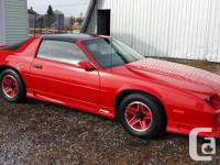 new camaro rs 1991 t-tops 000188km strored for 24 years