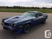Make Chevrolet Version Camaro Year 1979 Colour Blue