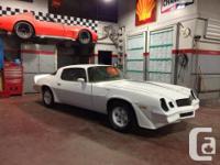 Make. Chevrolet. Version. Camaro. Year. 1980. Colour.