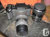 Camera - Pentax SF10 - 35mm Easy-to-use Auto-Focus 35mm