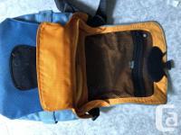 Crumpler camera bag. Six million dollar bag. Holds