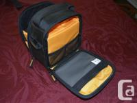 I have two camera bags for sale. The first one is a