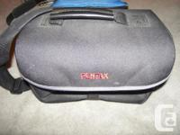 $7 each for 2 bags: PENTAX bag in black, well padded,