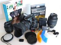 Nikon DSLR Electronic camera Package deal - in mint