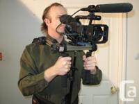 Sophisticated camera stabilizer shoulder support for