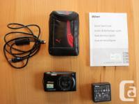 Nikon Coolpix S3300 Nextech Tripod Camera bag Charger
