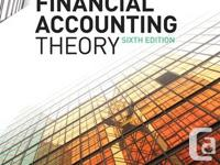 For Sale.  Financial Accounting Theory - William R.
