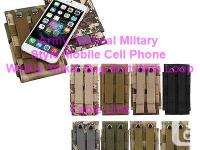 Army Tactical Miltary Mobile Cell Phone Bag Belt Loop