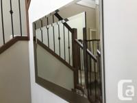 Mirror Two toned glass (bronze and clear glass) with