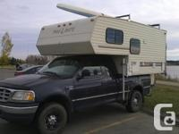 (F250 truck and kayak not included) Shower and toilet