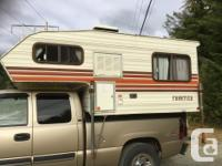 "1986 Frontier Import Camper 7'6"" - weight: 530 Kg Comes"