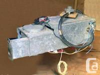 Camper propane furnace re furbished. Works great. .