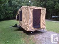 Like new, made use of for 5 evenings camping this
