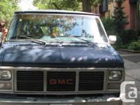 I sell my GMC Vandura G2500 (gas) camper van, year