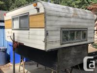 8' camperette perfect for a half ton needs work, water