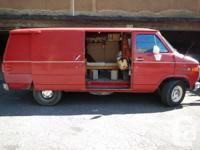 1991 GMC Vandura 1500 available - $3000 ONO. We have