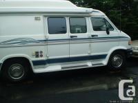 For Sale 1997 Dodge Pleasureway Camper