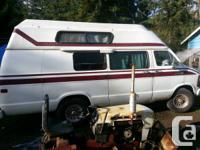 Dodge camper van on propane 318 motor runs great 1 ton