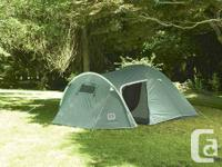 6 man extended dome. Completely waterproof with fully