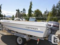 16.5 ft. 1989 Campion Fishing Machine, 90 hp Yamaha oil