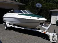 This 2003 Campion Allante bow rider has been keeped