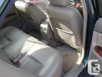 Make Toyota Model Camry Year 2003 Colour Green kms