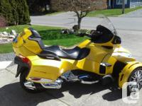 Year 2015 kms 3840 2015 Can Am Spyder RT Touring