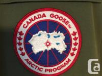 Canada Goose Expedition Parka. Size XL, Olive color.
