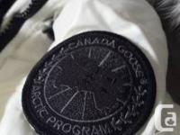 Selling: Canada Goose Monte Bello Jacket Color: Pearl