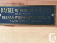 Keenan Woodenware Manufacturing Co from Owen Sound