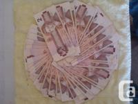 I have collected a bunch of older paper money, etc: