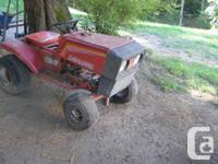 Canadiana riding mower project to trade for old briggs