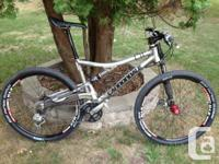 I am wanting to offer my 2007 Cannondale Rush. Its