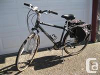 24 speed Bicycle with saddlebags, headlight, Xsenium